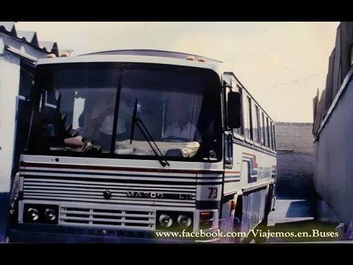 BUS MARCOPOLO III DE LA DESAPARECIDA EMPRESA EXPRESO SUDAMERICANO