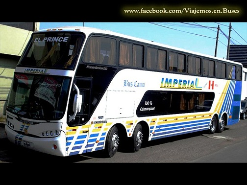 Bus de IMPERIAL rumbo a CAJAMARCA