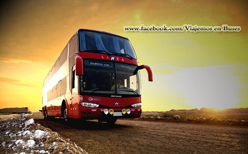Bus de LINEA rumbo a CAJAMARCA
