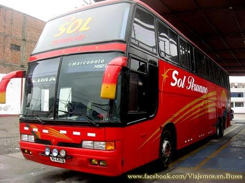 Bus de SOL PERUANO
