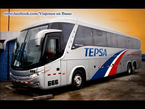 Bus de TEPSA