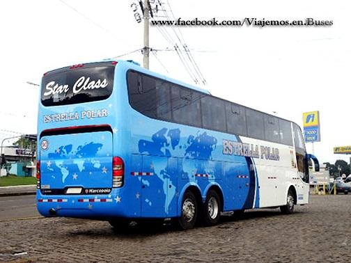 Nuevo bus Marcopolo 1550 LD de la empresa ESTRELLA POLAR