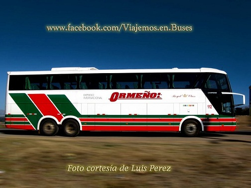 Nuevos buses Comil-Mercedes Benz de Ormeno