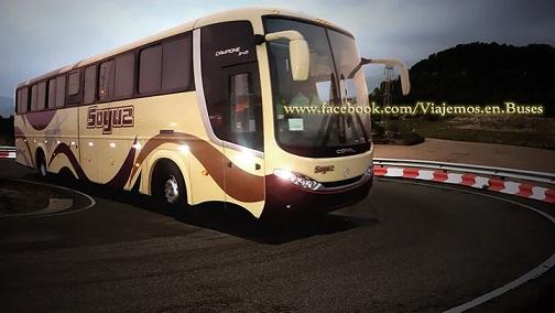 nuevos buses Comil 3 45 2011 de Soyuz