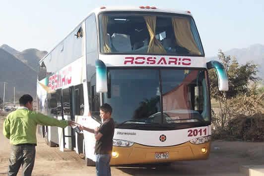 Turismo Rosario ruta Lima Huaraz