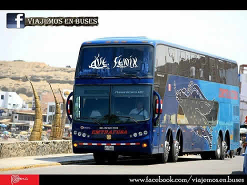 Bus Busscar Scania K380 de la empresa Emtrafesa