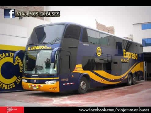 Bus Marcopolo-Scania de Expreso SAC