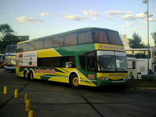 Costera Criolla bus