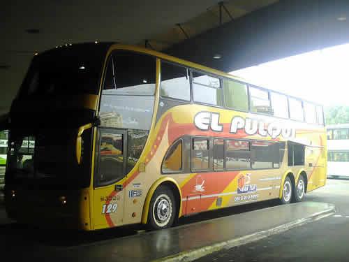 El Pulqui viaje en bus