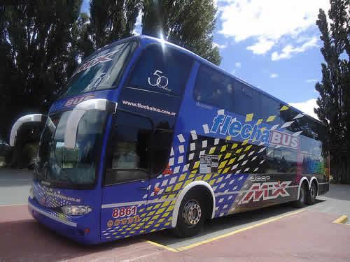 Flecha Bus viaje en bus