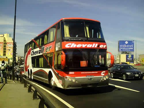 Nueva Chevallier bus argentina