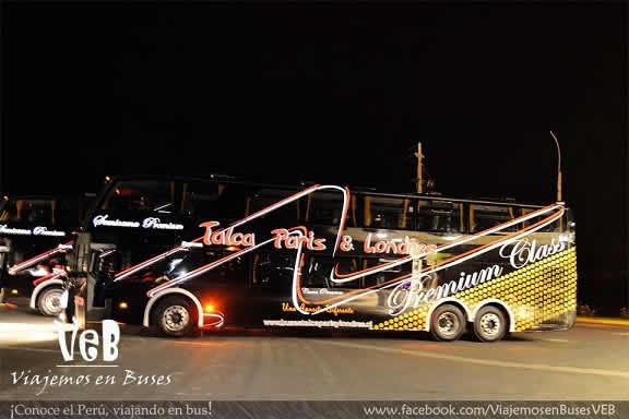 Nuevo Modasa Zeus II DP 2012 Scania K410 Empresa Talca Paris y Londres