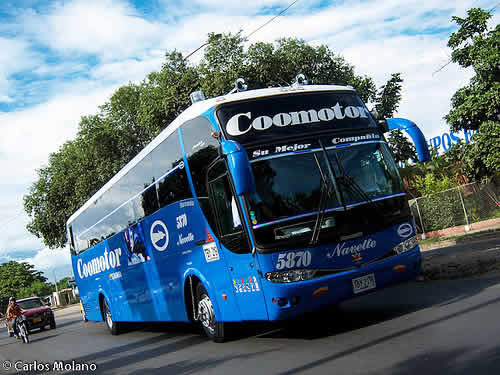 Coomoto bus colombia