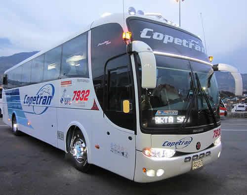 Copetran viaje en bus