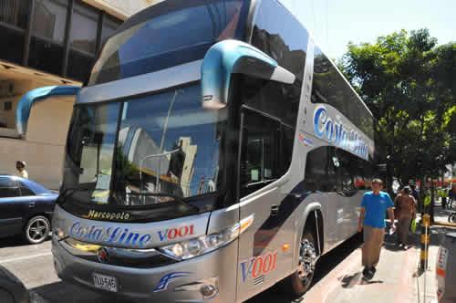 Costaline bus viaje