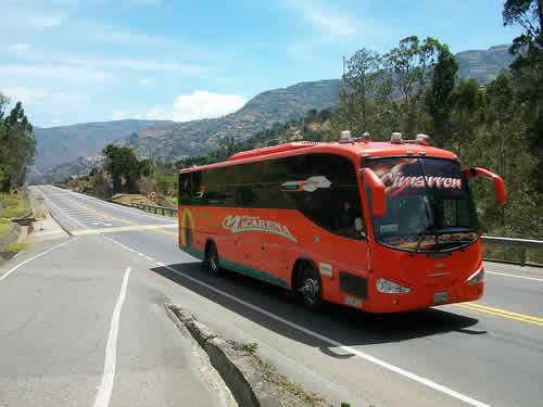 Flota La Macarena viaje en bus