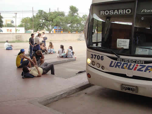 General Urquiza bus rosario