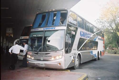 Nueva Godoy bus viaje
