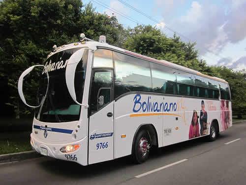 bus Bolivariano viaje en bus