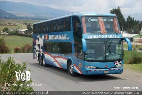 Bus de Turismo Raraz  Valle del Mantaro