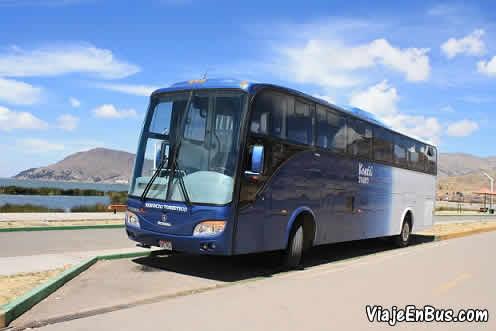 Bus de la empresa KONTIKI TOURS