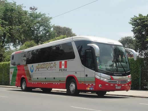 Bus Empresa de transportes  America Express