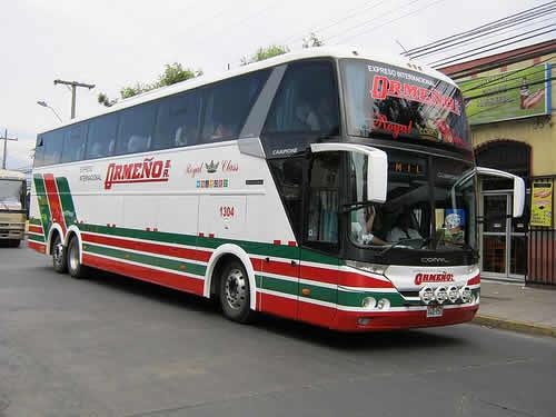 bus empresa de transportes Ormeno