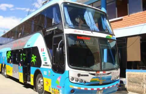 bus Transportes Julio Cesar