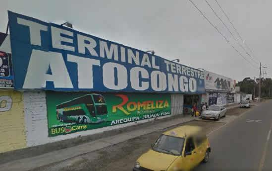 Terminal Terrestre Atocongo