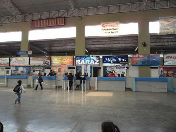 Terminal terrestre de Huancayo