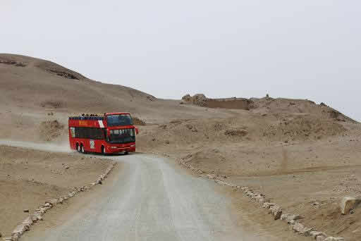 Pachacamac peru bus